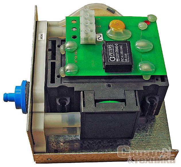 Вакуумный насос для перемешивания электролита