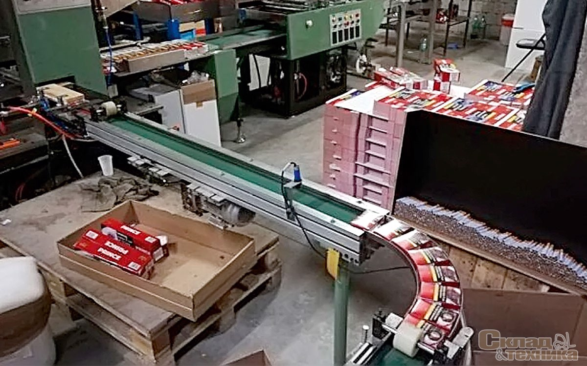 работа на складах табачных изделий